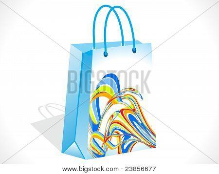 Abstract Colorful Shopping Bag