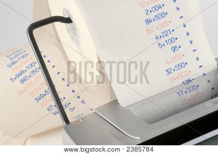 Calculator Tape