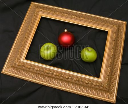 Two Apples And Fir-Tree Bauble