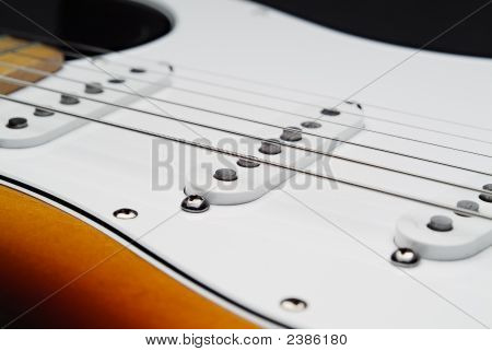 Electric Guitar Pickups And Strings