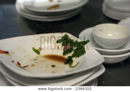 Dirty Plates After Dinner