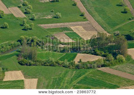 Beautiful Idyllic River Bednja Valley