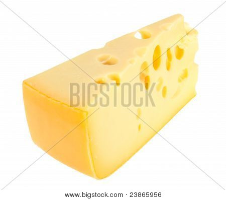 Sector Part Of Yellow Cheese