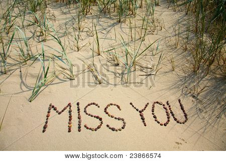Miss you - 1