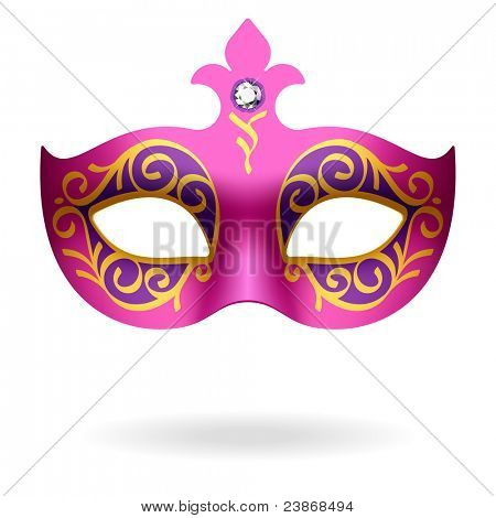 Carnival Mask. Vector.