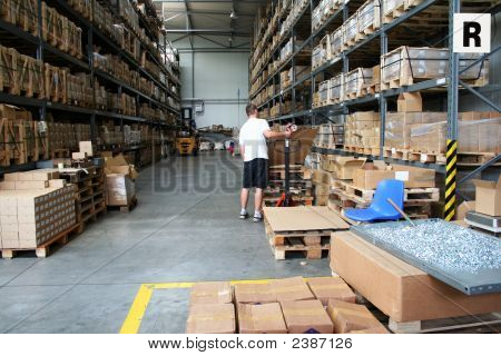 Busy Warehouse