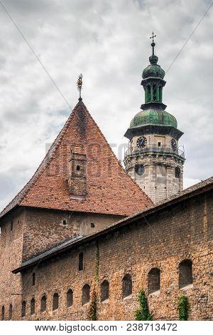 Lviv City Center View Historical