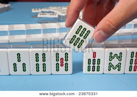 Touch A Mahjong Tiles