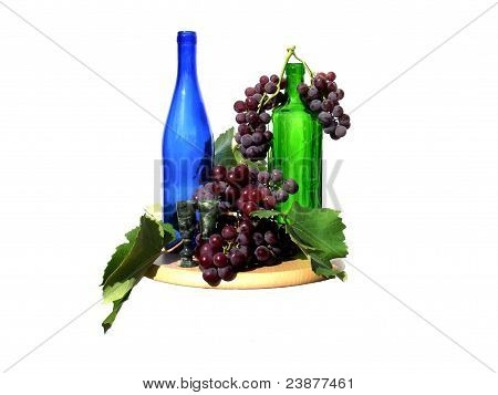Autumn Still Life with Grapes
