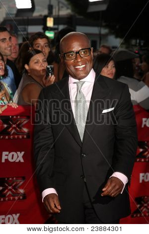 LOS ANGELES, CA - SEPTEMBER 14: L.A. Reid at the premiere of Fox's 'The X Factor' held at ArcLight Cinemas Cinerama Dome on September 14, 2011 in Los Angeles, California