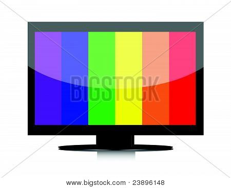 lcd television with no signal