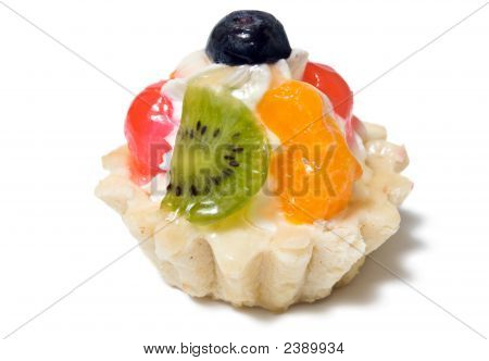 Single Tartalet With Fruits