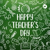 Happy Teachers Day Greetings poster