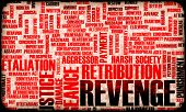 image of revenge  - Revenge and Plotting Justice in Grunge Concept - JPG
