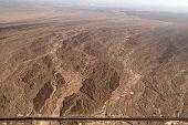 stock photo of geoglyph  - Flight over Nazca lines  - JPG