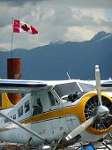 Seaplane in Coal Harbour