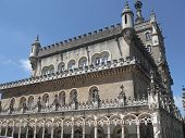 stock photo of carmelite  - Built in the XIX century this hotel is amongst the world - JPG