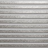 Metallic Glossy Texture. Metal Silver Pattern. Abstract Shiny Background. Luxury Sparkling Backgroun poster