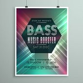 Stylish Music Party Event Flyer Brochure Template For Your Event poster