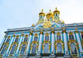 stock photo of tsarskoe  - Catherine Palace in Tsarskoe Selo St Petersburg Russia - JPG