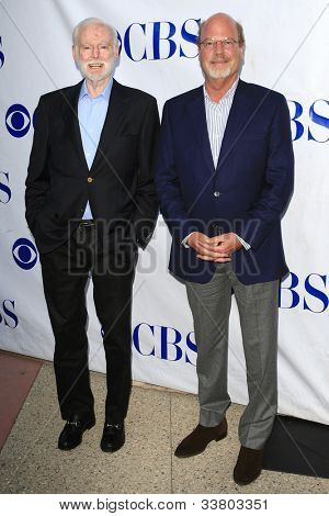 NORTH HOLLYWOOD - JUN 5: Leonard Goldberg, Kevin Wade at a screening and panel discussion of CBS's 'Blue Bloods' at Leonard H. Goldenson Theater on June 5, 2012 in North Hollywood, California