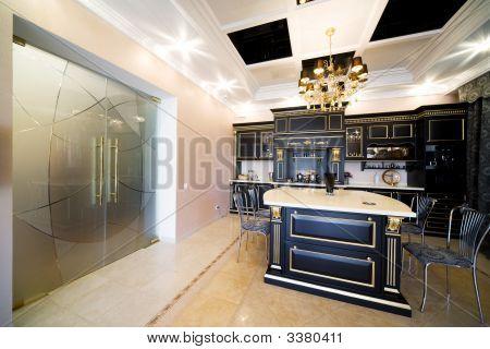 Wide Glass Doors