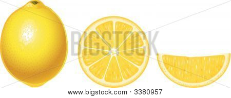 Lemons Isolated