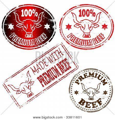 Premium Beef Stamp