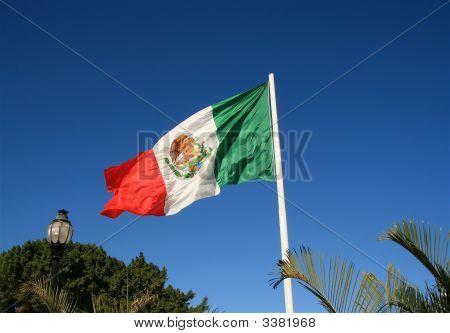Mexikanischen Flagge
