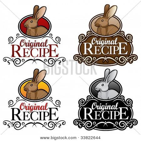 Original Recipe Rabbit version seal