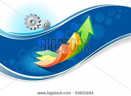 Elegant  industrial business brochure design