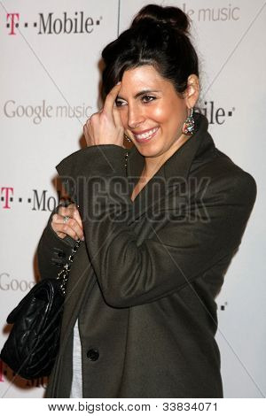LOS ANGELES - NOV 16:  Jamie-Lynn Sigler arrives at the Google Music Launch at Mr. Brainwash Studio on November 16, 2011 in Los Angeles, CA