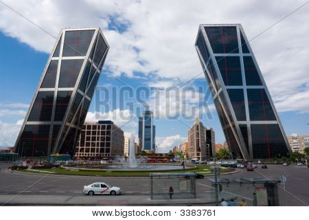 Kio Towers In Madrid
