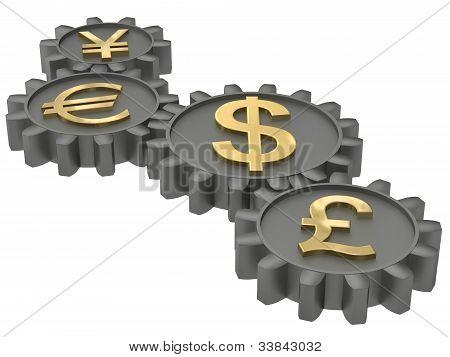 Getriebe der Wirtschaft