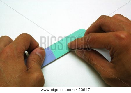 Finger Nail File