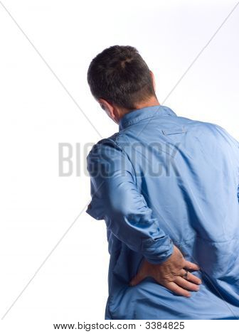 Seior Man With Back Pain