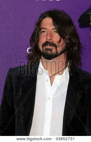 LOS ANGELES - JUN 9:  Dave Grohl arriving at 11th Annual Chrysalis Butterfly Ball at Private Residence on June 9, 2012 in Los Angeles, CA