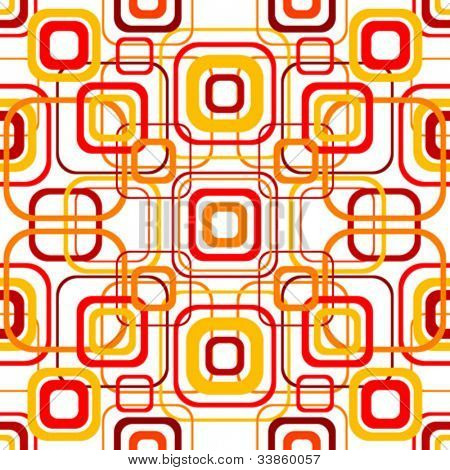 Seamless geometrical retro pattern