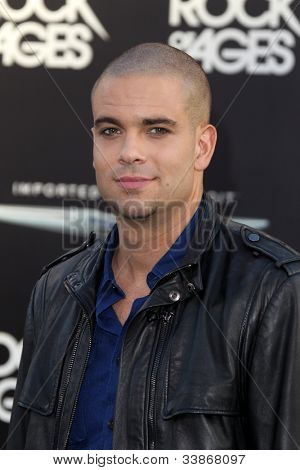 LOS ANGELES - JUN 8:  Mark Salling arriving at