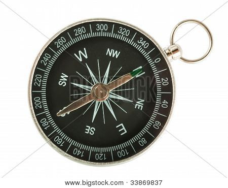 Black Compass Top View