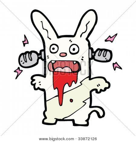 crazy loud music rabbit