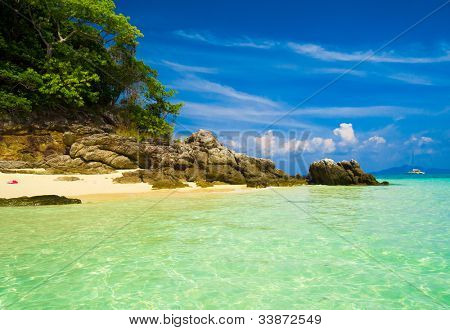 Sunshine Scene Vacation Wallpaper