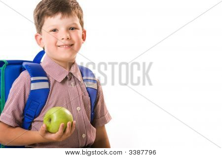 Boy With Apple