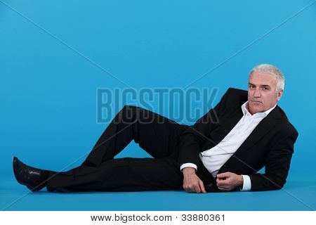 An idle businessman