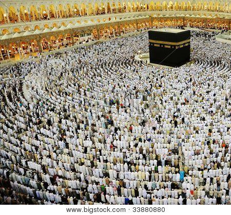 Kaaba Makkah Hajj Muslims