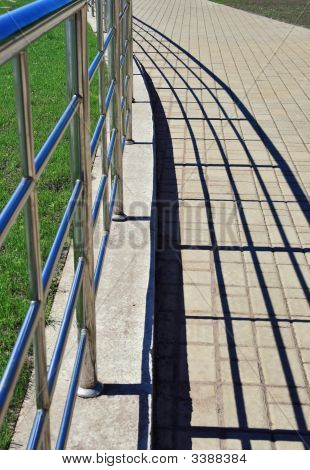 Handrail And Shadows