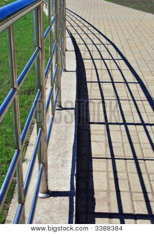 Handrail And Shadows