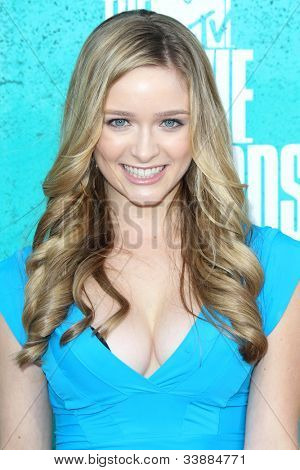 LOS ANGELES - JUN 3:  Greer Grammer arriving at the 2012 MTV Movie Awards at Gibson Ampitheater on June 3, 2012 in Los Angeles, CA
