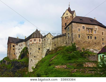The Castle Loket>czech Republic