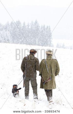 cazadores de caza